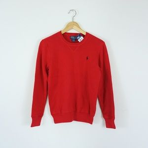 NWT Polo Ralph Lauren Youth Sweater Red L